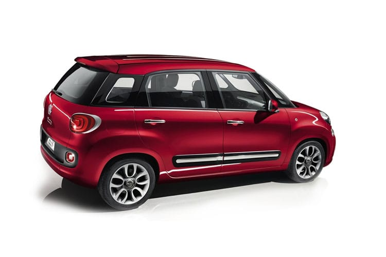 Fiat 500L Hatch 5Dr 1.4  95PS Cross 5Dr Manual [Start Stop] back view