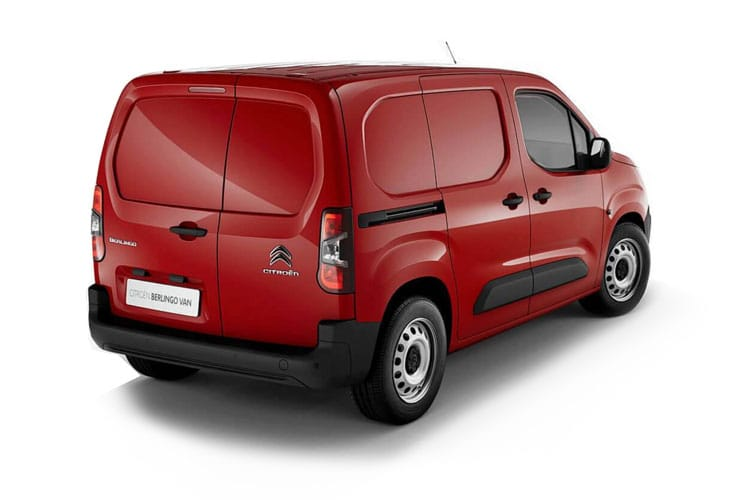 Citroen Berlingo M 1000Kg 1.5 BlueHDi FWD 130PS Driver Van EAT8 [Start Stop] back view