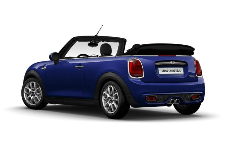 MINI Convertible John Cooper Works 2.0  231PS  2Dr Manual [Start Stop] back view