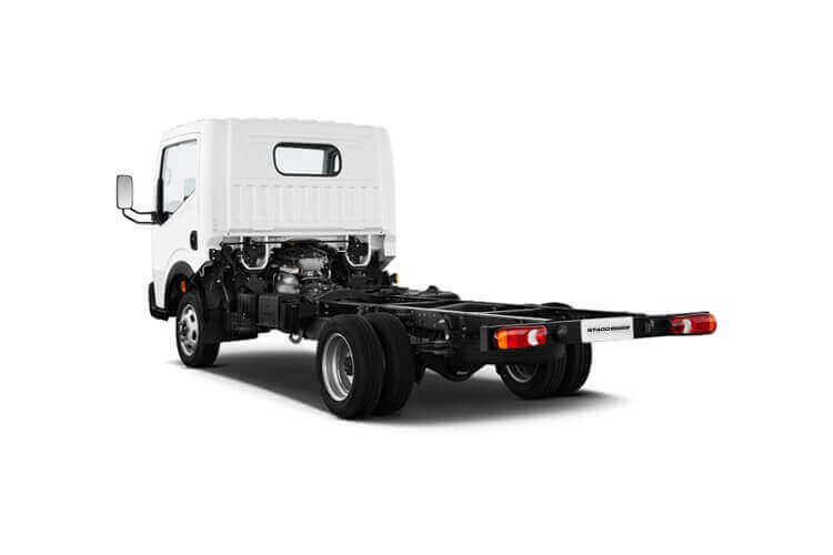 Nissan NT400 Cabstar 35.13 LWB 3.0 dCi DRW 130PS  Dropside Manual back view