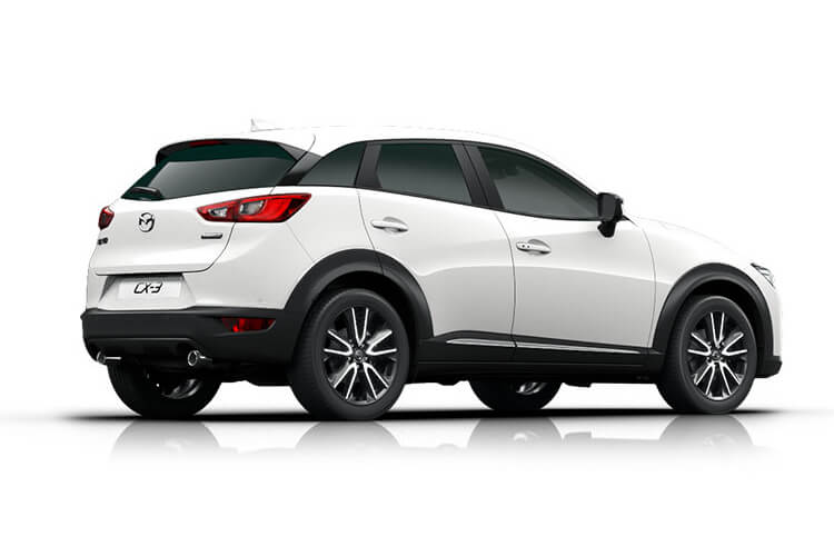 Mazda CX-3 SUV 2.0 SKYACTIV-G 121PS Sport Nav+ 5Dr Manual [Start Stop] [Stone Lthr Safety] back view