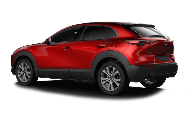 Mazda CX-30 SUV 4wd 2.0 SKYACTIV-X MHEV 180PS GT Sport Tech 5Dr Auto [Start Stop] back view