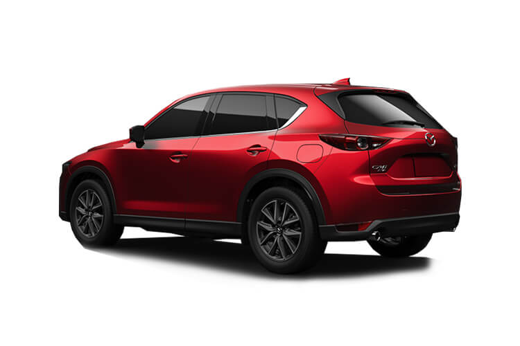 Mazda CX-5 SUV 4wd 2.2 SKYACTIV-D 184PS GT Sport Nav+ 5Dr Auto [Start Stop] back view