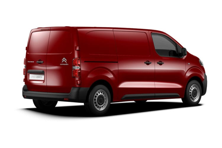 Citroen Dispatch e-Dispatch M 1000Kg Elec 75kWh 101KW FWD 136PS Enterprise Van Auto back view