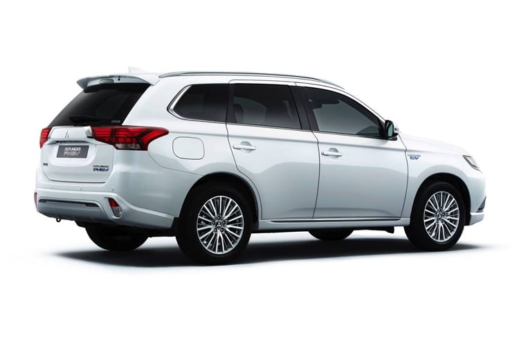 Mitsubishi Outlander PHEV SUV 2.4 h TwinMotor 13.8kWh 224PS Exceed 5Dr CVT [Start Stop] back view