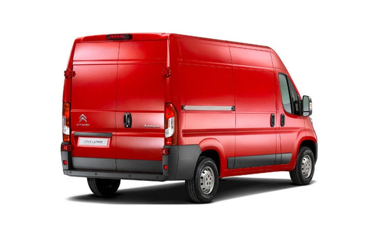 Citroen Relay 35 Heavy L4 2.2 BlueHDi FWD 140PS Enterprise Van High Roof Manual [Start Stop] back view