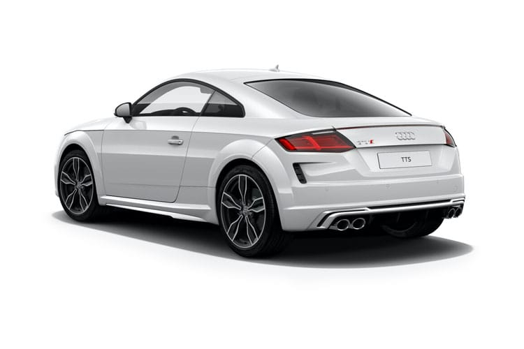Audi TT 45 Coupe 2.0 TFSI 245PS S line 3Dr S Tronic [Start Stop] back view
