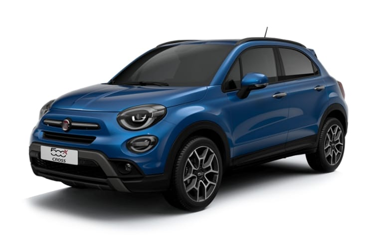 Fiat 500X SUV 1.3 FireFly Turbo 150PS Cross 5Dr DCT [Start Stop] front view