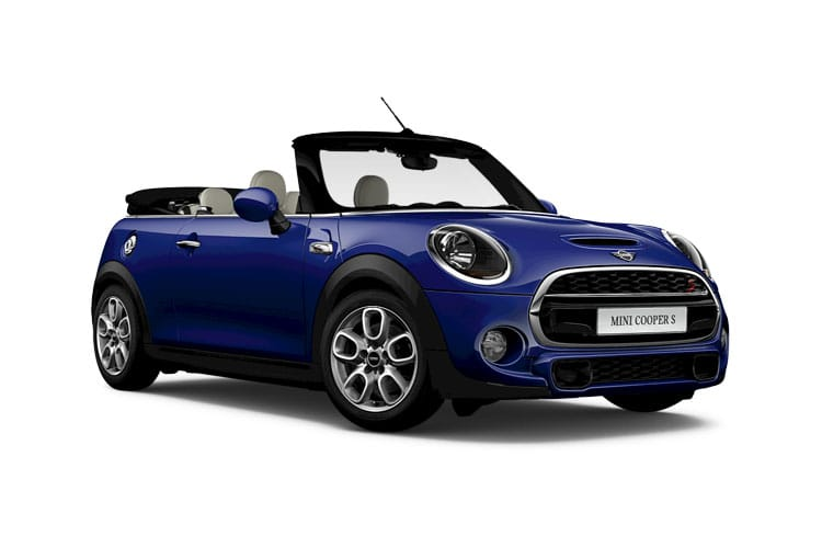 MINI Convertible John Cooper Works 2.0  231PS  2Dr Manual [Start Stop] front view