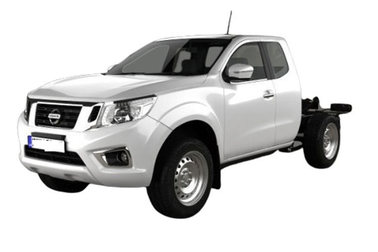 Nissan Navara Chassis King Cab 4wdS 2.3 dCi 4WS 163PS Visia Chassis Double Cab Manual [Start Stop] front view