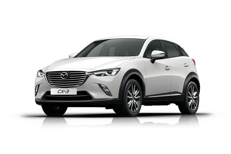 Mazda CX-3 SUV 2.0 SKYACTIV-G 121PS Sport Nav+ 5Dr Manual [Start Stop] [Stone Lthr Safety] front view
