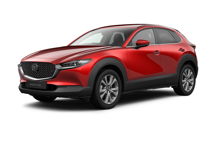 Mazda CX-30 SUV 2.0 e-SKYACTIV G MHEV 122PS GT Sport Tech 5Dr Manual [Start Stop] front view