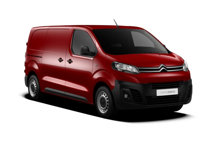 Citroen Dispatch e-Dispatch M 1000Kg Elec 75kWh 101KW FWD 136PS Enterprise Van Auto front view
