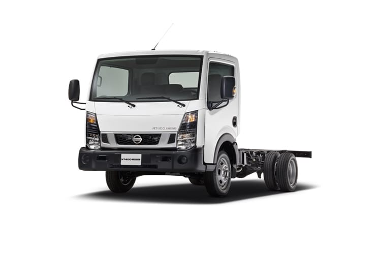 Nissan NT400 Cabstar 34.13 SWB SRW 3.0 dCi RWD 130PS  Chassis Cab Manual front view