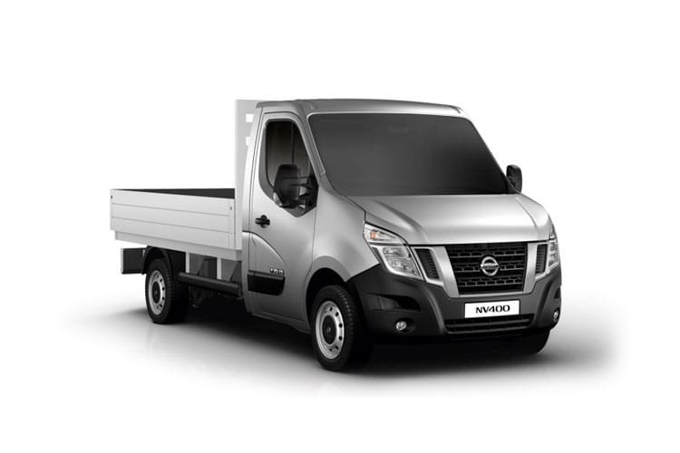 Nissan NV400 L2 35 FWD 2.3 dCi FWD 130PS E Dropside Manual front view