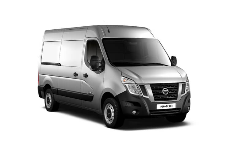 Nissan NV400 L4 35TW RWD 2.3 dCi DRW 145PS SE Van High Roof Manual [Start Stop] front view
