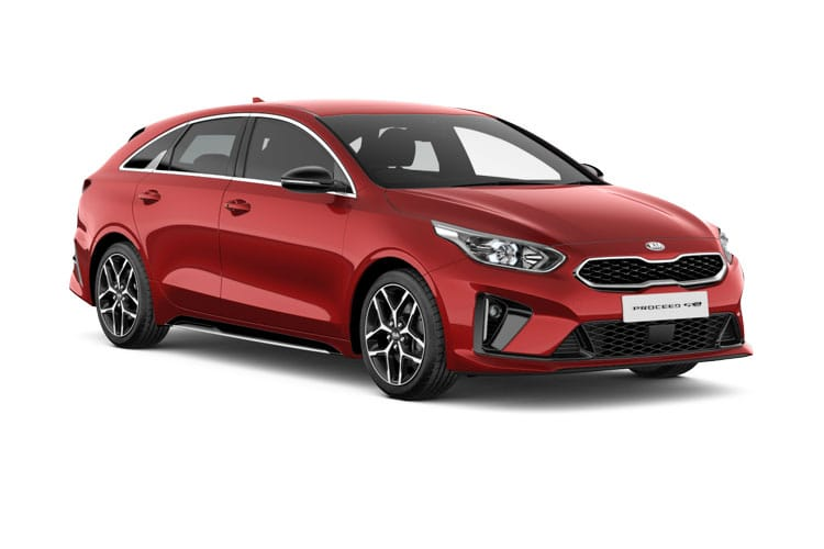 Kia Ceed ProCeed Shooting Brake 5Dr 1.6 T-GDI 201PS GT 5Dr DCT [Start Stop] front view