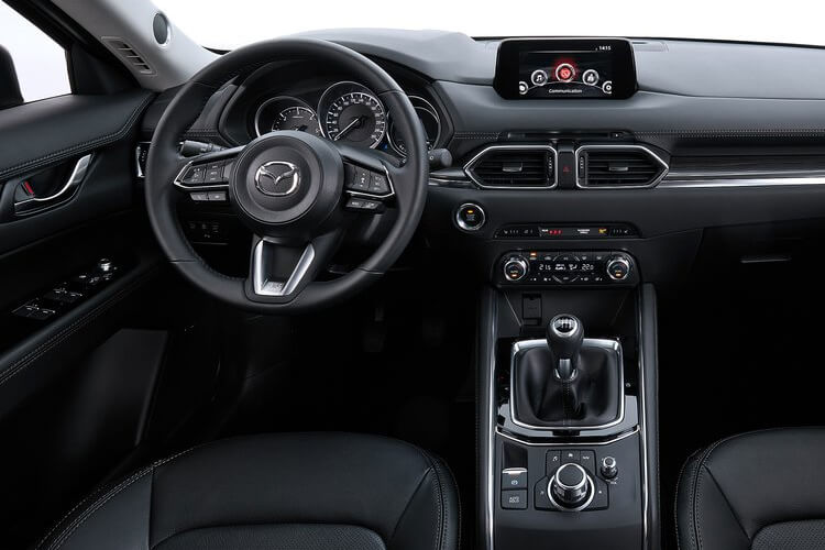 Mazda CX-5 SUV 2.2 SKYACTIV-D 150PS Sport Nav+ 5Dr Manual [Start Stop] [Safety] inside view