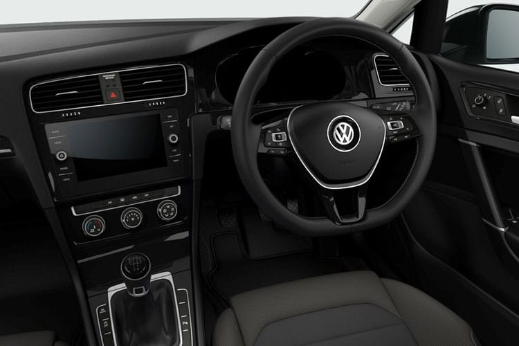 Volkswagen Golf Hatch 5Dr 2.0 TDI 150PS Style 5Dr DSG [Start Stop] inside view