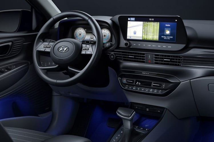 Hyundai i20 Hatch 5Dr 1.2  84PS SE 5Dr Manual [Start Stop] inside view