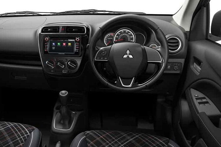 Mitsubishi Mirage Hatch 5Dr 1.2  79PS First Edition 5Dr CVT [Start Stop] inside view