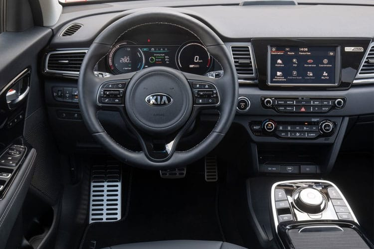 Kia Niro SUV 5Dr 1.6 h GDi 139PS 4 5Dr DCT [Start Stop] inside view