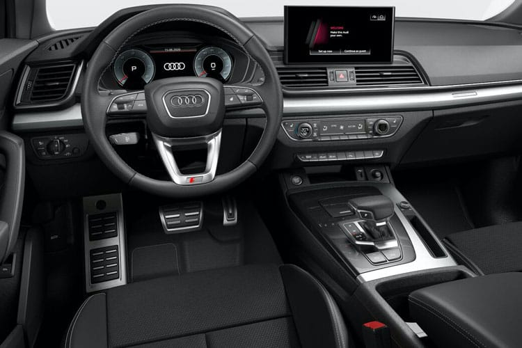 Audi Q5 40 SUV quattro 5Dr 2.0 TDI 204PS S line 5Dr S Tronic [Start Stop] inside view