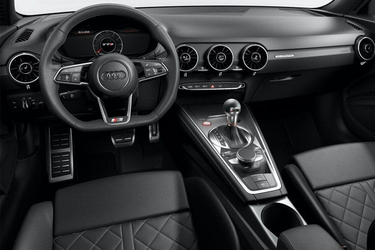 Audi TT 45 Coupe 2.0 TFSI 245PS S line 3Dr S Tronic [Start Stop] inside view