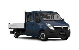 Vauxhall Movano HGV Dropside Double Cab R45DRW L4 2.3 CDTi BiTurbo DRW 165PS  Dropside Double Cab Manual [Start Stop]