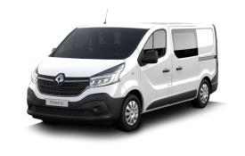 Renault Trafic Crew Van 30 LWB 2.0 dCi ENERGY FWD 145PS Black Edition Crew Van Manual [Start Stop]