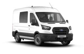 Ford Transit Crew Van 350 L2 RWD 2.0 EcoBlue RWD 130PS Trend Crew Van Medium Roof Manual [Start Stop] [DCiV]